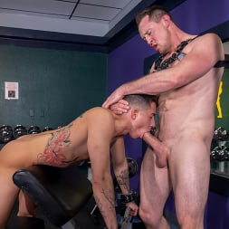 Pierce Paris in 'Kink Men' No Pain No Gain: Vincent O'Reilly Takes Pierce Paris' Monster Cock (Thumbnail 9)