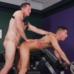 Pierce Paris in 'Kink Men' No Pain No Gain: Vincent O'Reilly Takes Pierce Paris' Monster Cock (Thumbnail 17)