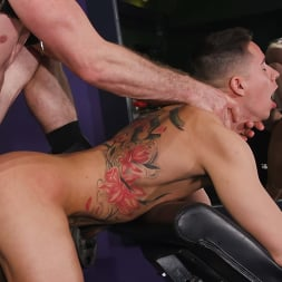 Pierce Paris in 'Kink Men' No Pain No Gain: Vincent O'Reilly Takes Pierce Paris' Monster Cock (Thumbnail 20)