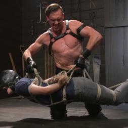 Pierce Paris in 'Kink Men' Manhandles Tony Orlando (Thumbnail 1)