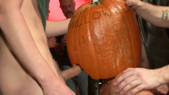 Ray Han in 'HAPPY HALLOWEEN! - Halloween Whore Gang Fucked by the Horny Crowd'
