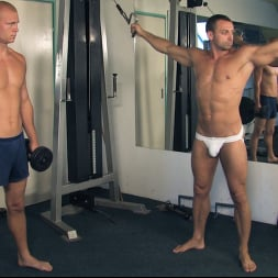 Rick Randy in 'Kink Men' Budapest Bound: Never-Before-Seen Bound Gods with Van Darkholme (Thumbnail 1)