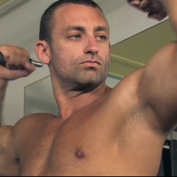 Rick Randy in 'Kink Men' Budapest Bound: Never-Before-Seen Bound Gods with Van Darkholme (Thumbnail 2)