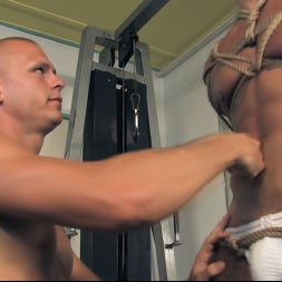 Rick Randy in 'Kink Men' Budapest Bound: Never-Before-Seen Bound Gods with Van Darkholme (Thumbnail 6)