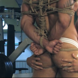 Rick Randy in 'Kink Men' Budapest Bound: Never-Before-Seen Bound Gods with Van Darkholme (Thumbnail 7)