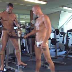 Rick Randy in 'Kink Men' Budapest Bound: Never-Before-Seen Bound Gods with Van Darkholme (Thumbnail 8)