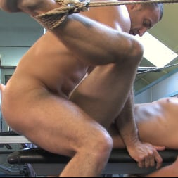 Rick Randy in 'Kink Men' Budapest Bound: Never-Before-Seen Bound Gods with Van Darkholme (Thumbnail 13)