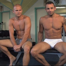 Rick Randy in 'Kink Men' Budapest Bound: Never-Before-Seen Bound Gods with Van Darkholme (Thumbnail 30)