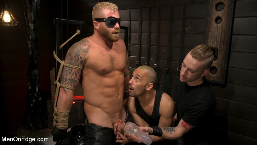 Kink Men 'Roped In: Muscle Dom Riley Mitchell Bound and Edged' starring Riley Mitchell (Photo 6)
