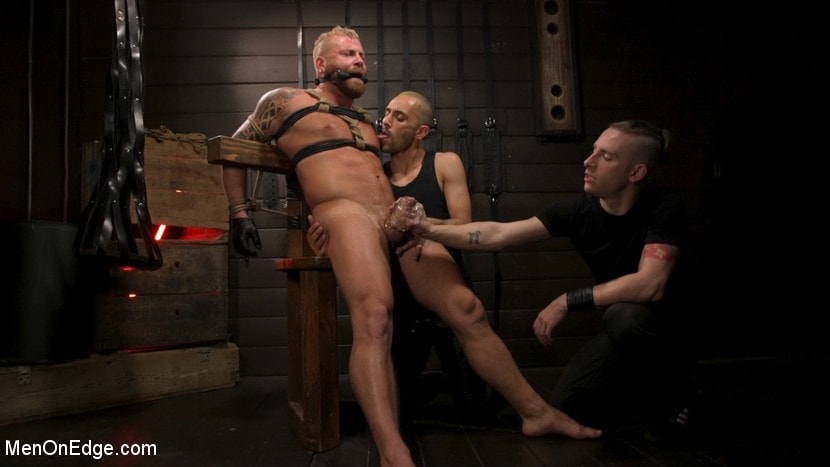Kink Men 'Roped In: Muscle Dom Riley Mitchell Bound and Edged' starring Riley Mitchell (Photo 23)