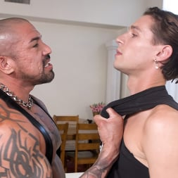 Rocky Maximo in 'Kink Men' Mr. Black's Little Bitch: Rocky Maximo and Shae Reynolds RAW (Thumbnail 1)