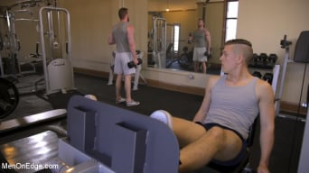 Scott Ambrose in 'Ginger Muscle God Tormented and Edged in Bondage'