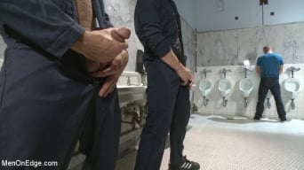 Scott Riley in 'gets captured, edged and fucked by horny plumbers'