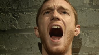 Seamus O'Reilly in '- The Pit - The Chair - The Gimp Room'