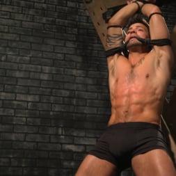 Sebastian Keys in 'Kink Men' A Hard Place: Casey Everett Tormented And Fucked In Full Suspension (Thumbnail 2)