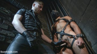 Sebastian Keys in 'Mr Keys beats and fucks tough new slave'