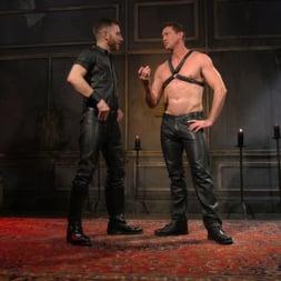 Pierce Paris in 'Kink Men' Sore Loser: Muscle stud Pierce Paris Gets Beat and Foot-Fucked (Thumbnail 1)