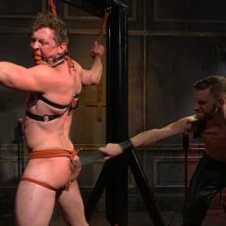 Pierce Paris in 'Kink Men' Sore Loser: Muscle stud Pierce Paris Gets Beat and Foot-Fucked (Thumbnail 2)