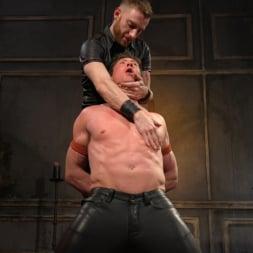 Pierce Paris in 'Kink Men' Sore Loser: Muscle stud Pierce Paris Gets Beat and Foot-Fucked (Thumbnail 14)