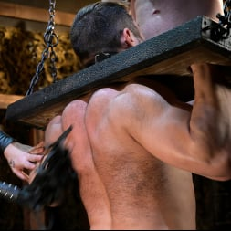 Sebastian Keys in 'Kink Men' Stocked and Cocked: Seth Santoro Beaten and Fucked in a Stockade (Thumbnail 5)