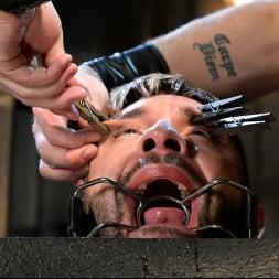 Sebastian Keys in 'Kink Men' Stocked and Cocked: Seth Santoro Beaten and Fucked in a Stockade (Thumbnail 8)