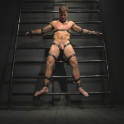 Sebastian Keys in 'Kink Men' Straight stud wants only bondage but he's made to take cock up his ass (Thumbnail 1)
