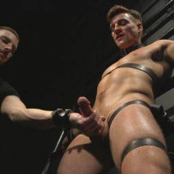 Sebastian Keys in 'Kink Men' Straight stud wants only bondage but he's made to take cock up his ass (Thumbnail 2)