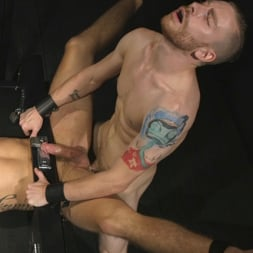 Sebastian Keys in 'Kink Men' Straight stud wants only bondage but he's made to take cock up his ass (Thumbnail 14)