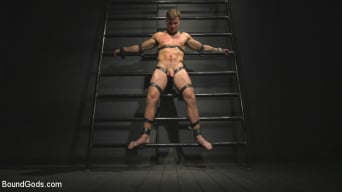 Sebastian Keys in 'Straight stud wants only bondage but he's made to take cock up his ass'