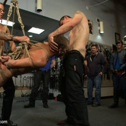 Sebastian Keys in 'Kink Men' Young stud is bound for the first time at Mr. S Leather (Thumbnail 4)