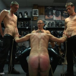 Sebastian Keys in 'Kink Men' Young stud is bound for the first time at Mr. S Leather (Thumbnail 5)