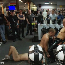 Sebastian Keys in 'Kink Men' Young stud is bound for the first time at Mr. S Leather (Thumbnail 9)