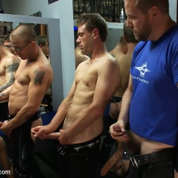 Sebastian Keys in 'Kink Men' Young stud is bound for the first time at Mr. S Leather (Thumbnail 11)