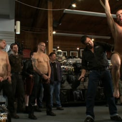 Sebastian Keys in 'Kink Men' Young stud is bound for the first time at Mr. S Leather (Thumbnail 18)