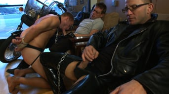 Sebastian Keys in 'Young stud is bound for the first time at Mr. S Leather'