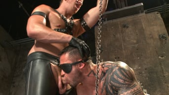 Seven Dixon in 'New Muscle Stud Bound Beaten and Fucked'