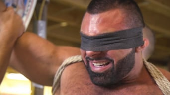 Steven Roman in 'Beefy mechanic taken down and edged against his will'
