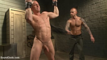Tommy Regan in 'Enhanced Interrogation: Detained Stud Faces a Horny, Sadistic Agent'
