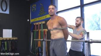 Tony Shore in 'Tony Shore, Tied Up and Edged at the Gym'
