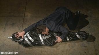 Trenton Ducati in 'Captured Stud Mummified Beaten, Fucked and Humiliated'