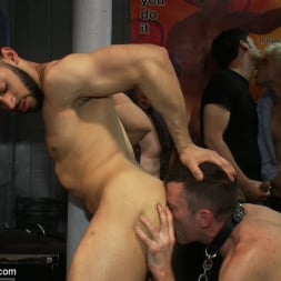 Tristan Jaxx in 'Kink Men' Innocent man is taken into a porn shop and turned into a sex slave. (Thumbnail 2)