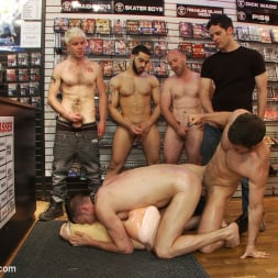 Tristan Jaxx in 'Kink Men' Innocent man is taken into a porn shop and turned into a sex slave. (Thumbnail 8)