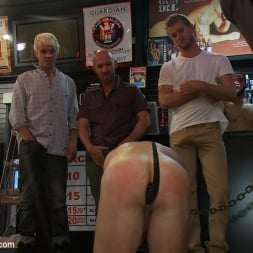 Tristan Jaxx in 'Kink Men' Innocent man is taken into a porn shop and turned into a sex slave. (Thumbnail 9)