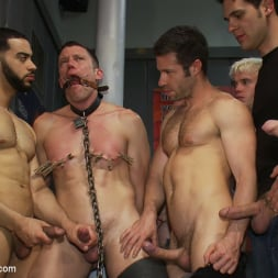 Tristan Jaxx in 'Kink Men' Innocent man is taken into a porn shop and turned into a sex slave. (Thumbnail 11)