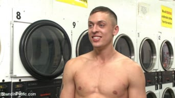 Tyler Rush in 'Edged, tormented and gang fucked in a dirty laundromat'