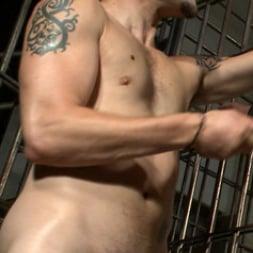 Wolf Hudson in 'Kink Men' Arrogant Cop Tormented by His Prisoner (Thumbnail 17)