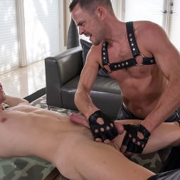 Zak Bishop in 'Kink Men' Greedy Boy: Zak Bishop Fucked RAW by Daddy Trent Summers (Thumbnail 4)