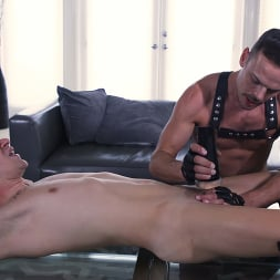 Zak Bishop in 'Kink Men' Greedy Boy: Zak Bishop Fucked RAW by Daddy Trent Summers (Thumbnail 9)